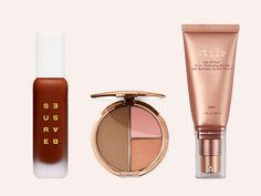 The Best New Makeup Launching in July - Too Faced Pomade In A Pencil Brow Shaper & Filler,Bobbi Brown Face And Cheek Palette,Surebase Glad Glow Foundation,Huda Beauty N.Y.M.P.H. GLAZE Skin Glowing Perfector,Sigma Switch,Stila Stay All Day 10-in-1 Illuminating Skin Veil,makeup Look, makeup, makeup routine,make up,pretty makeup makeup how to,makeup and beauty,beauty makeup beauty and makeup,product,beauty,beauty love beauty stuff,products i love Beauty Skin, Beauty Makeup, Huda Beauty, Perfect Makeup, Pretty Makeup, Lymphatic Drainage Massage, Stila Stay All Day, Brush Cleanser, Glow Foundation