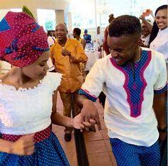 shweshwe dresses 2017 and the latest nail art African Print Dress Designs, African Print Dresses, African Print Fashion, Africa Fashion, African Prints, African Dresses For Women, African Attire, African Wear, Venda Traditional Attire