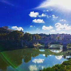 Santangelo bridge, Rome, Italy