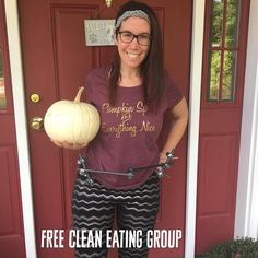 Well friends it's OFFICIALLY Fall and that means all things #Pumpkin #givemeallthepumpkin  I am running a totally free pumpkin themed healthy eating group next week and we'll have a super fun prize for someone who actively participates in the group  We provide the meal plan recipes shopping list and private support  If you are one of those crazy anti-pumpkin people we have a non-pumpkin meal plan for you too   I will post the link to the event below and you can RSVP yes drop your email below…