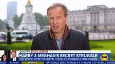ITV's Tom Bradby on Prince Harry and Meghan Markle interview Meghan Markle Interview, Prince Harry Pictures, Abc Good Morning America, Work In Africa, British Press, Online Stories, Wife Pics, House Of Windsor, California Cool