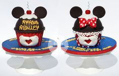 Mickey loves Minnie Smash Cakes
