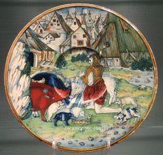 Gubbio 1525 (G. Andreoli) - Metropolitan Museum NY