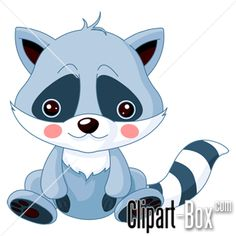 CLIPART BABY RACOON