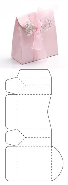 DIY Paper Lanterns Paper lanterns come in diverse sizes and styles and have emerge as the most famou Paper Crafts Origami, Origami Box, Diy Gift Box, Diy Box, Paper Purse, Paper Bags, Diy Paper Bag, Diy And Crafts, Crafts For Kids