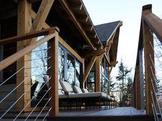 HGTV Dream Home 2011 Wood Deck Railing View