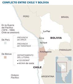 Conflicto territorial Perú, Bolivia y Chile
