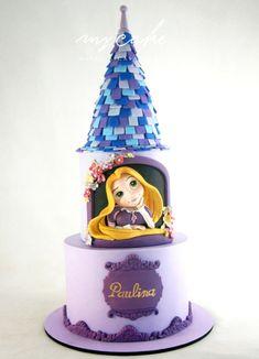 Rapunzel - cake by Natalia Casaballe