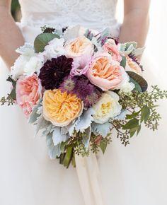 bridal bouquet; photo: Bridgette Marie Photography
