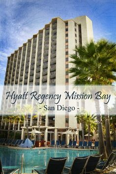 Review of Hyatt Regency Mission Bay in San Diego for families. Has water slides, great views and is close to SeaWorld. tipsforfamilytrips.com #sandiego