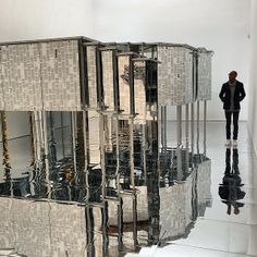 """Lee Bul's Disorienting Installation is the Next """"Infinity Room"""" - My Modern Metropolis"""