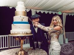 Dancing with the Stars Pro Mark Ballas and BC Jean's 'Majestic,' 7-Tier Wedding Cake