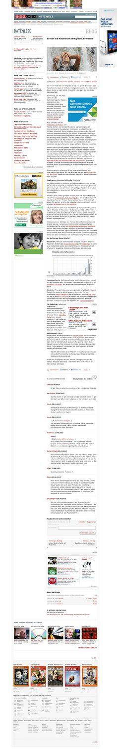 Hitzewelle auf Wikipedia http://www.spiegel.de/netzwelt/web/datenlese-so-hat-die-hitzewelle-wikipedia-erwischt-a-907207.html