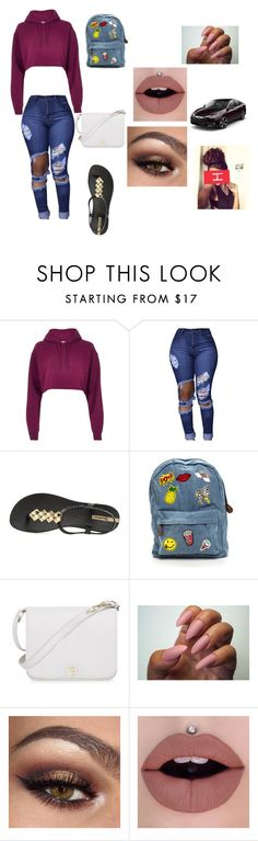 """🐬"" by kiddkaee on Polyvore featuring River Island, IPANEMA and Furla"
