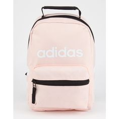 Adidas Santiago lunch bag. Insulated zip storage compartment keeps food and drinks cold. Zip front compartment for storage. Mesh pocket on back. Allover ad…