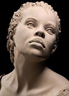 Escultura com argila de Philippe Faraut