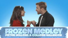 Epic Frozen Medley - Peter Hollens Feat. Colleen Ballinger....I know you people are tired of Frozen, but I thought this was so well done!!!
