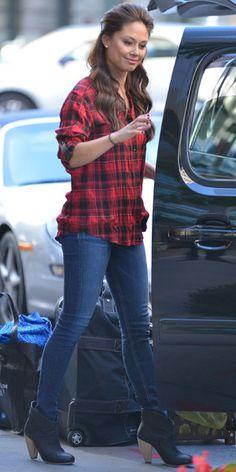 Vanessa Lachey leaving her New York hotel - 17 September 2013