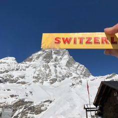 Switzerland is known for their mountains and chocolate, and Toblerone is one of my favorites, so I had to get the shot of the Matterhorn… Italian Side, Switzerland, Mount Everest, Zermatt, Family Travel, Mountains, My Favorite Things, Travel Tips, Toblerone