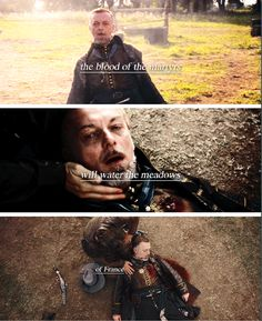 """The blood of the martyrs will water the meadows of France"" 