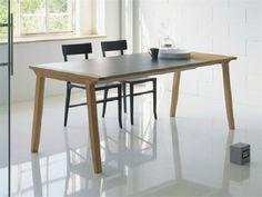 Table extensible à manger en bois PIGRECO by LINFA DESIGN | design Eros Colzani