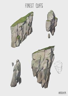 ArtStation – Absolver Forest environment sketches, Michel Donze – Art Drawing Tips Digital Painting Tutorials, Digital Art Tutorial, Art Tutorials, Landscape Drawings, Landscape Illustration, Landscape Art, Landscapes, Environment Sketch, Environment Painting