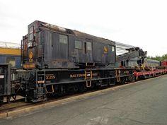 Baltimore And Ohio Railroad, Rail Transport, Electric Locomotive, Model Trains, Crane, Journey, Big, Vehicles, The Journey
