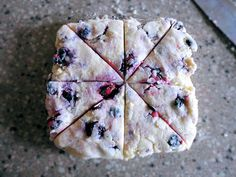 Blueberry Scones and other blueberry recipes :).  Will be making this with all of my blueberries.