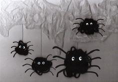 Woll-Spinnen