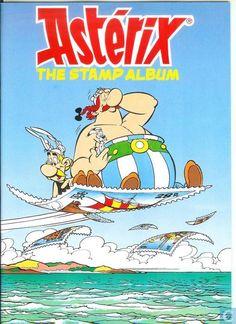 Bandes dessinées - Astérix - Asterix the stamp album