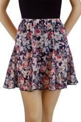 Trienawear floral 6 gore swing skirt P, S, or M. Cute swing skirt with black elastic waistband. Size P fits waist size Size S fits waist size Size M fits waist size Georgette Fabric, Swing Skirt, Fashion Outfits, Womens Fashion, Dance Wear, Mini Skirts, Women's Skirts, Skater Skirt, Fashion Brands