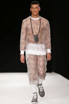 Man Menswear Spring Summer 2014 London via http://nwf.sh/13LkyOh--- im not sure i even have to comment why.