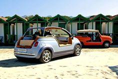 Fiat 500 Tender Two Castagna EV
