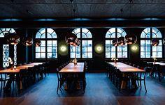 Union Restaurant, Basel, Switzerland, by Aurélie Blanchard   Australian Design Review