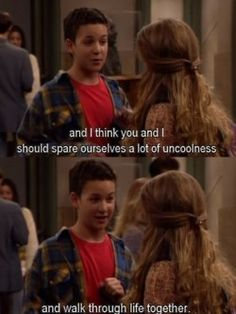 I swear...if a guy ever hit on me via Boy Meets World quotes, I'd love him forever.