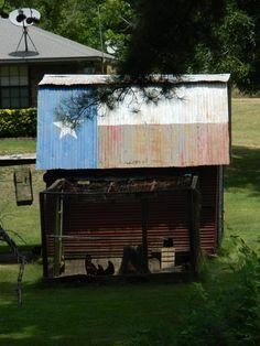 Cass County chicken coop