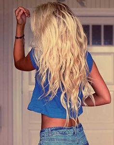 Uzun Sarı Saç