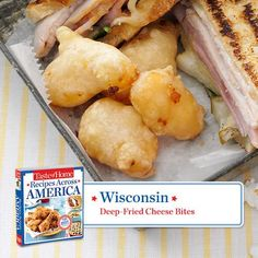 Wisconsin -- Deep Fried Cheese Bites
