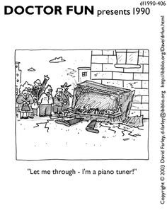 df1990-406.gif 413×550 pixels Music Jokes, Music Humor, Funny Music, Family Circus Cartoon, Doctor Jokes, Piano Pictures, Band Jokes, New Yorker Cartoons, Teaching Music