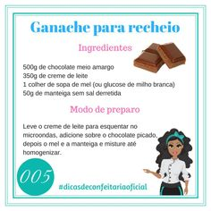 Bom dia! Que tal uma receita para alegrar seu dia? Lety Nobre #dicasdeconfeitariaoficial Cooking Time, Cooking Recipes, Pastel Cakes, Icing Frosting, Cake Boss, Calories, Sweet Life, Food Hacks, Macarons