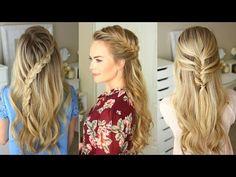 Woven Headband Braid | Missy Sue - YouTube