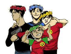 Batboys Flower Crowns
