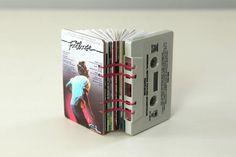 Cassette tape book, by Erin Zamrzia