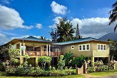 weke road hanalei bay beach house -