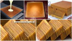Pastry Recipes, Cake Recipes, Cooking Recipes, Bread Recipes, Thousand Layer Cake, Lapis Surabaya, Lapis Legit, Resep Cake, Date Cake
