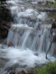 Small waterfall south fork Santa Ana River