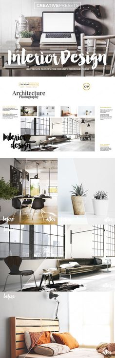 Interior Design Photography Lightroom Presets - Making the most of natural Light in Architecture Photography.  #interior #photography #lightroom