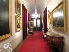 Palácio Nacional da Ajuda em Lisboa - corredor (2)