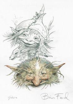 Magical creatures - Brian Froud