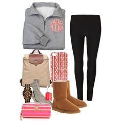 """Lazy days"" by thepreppylife on Polyvore"